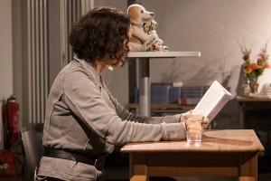 Lesung mit Maike Maja Nowak an der Muthesius
