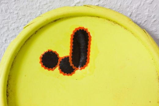 Geflickte Frisbee