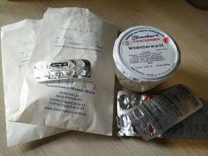 Medikamente für Suki und Miro